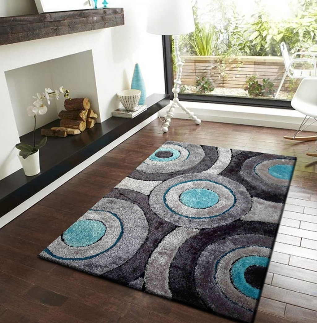 Contemporary Shag Rug Fixture (View 5 of 13)