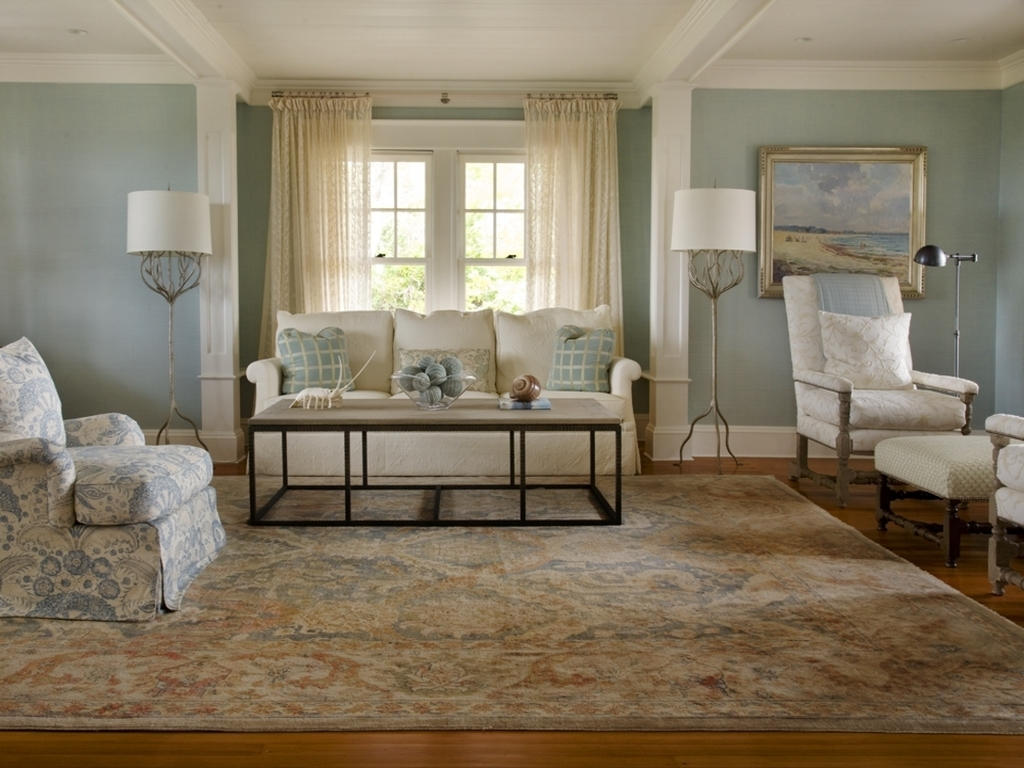 Living Room Oriental Rugs Installation (Photo 16 of 24)