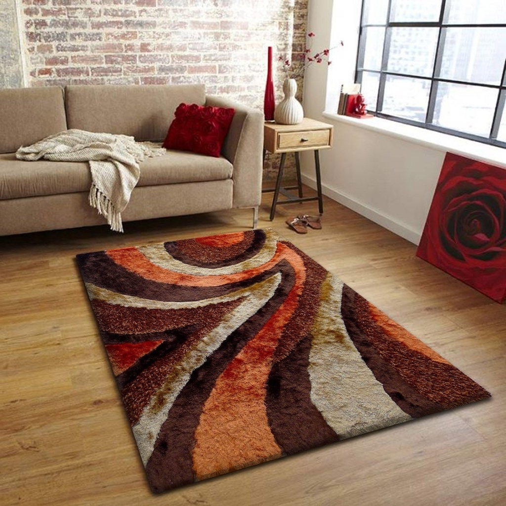 Minimalist Living Room Shag Rug (View 9 of 13)