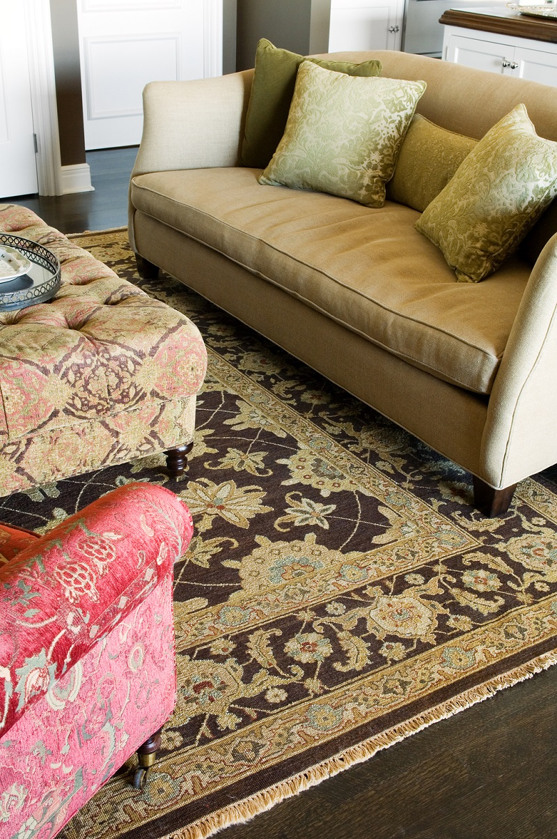 Persian Carpet Installation For Living Area (Image 17 of 24)