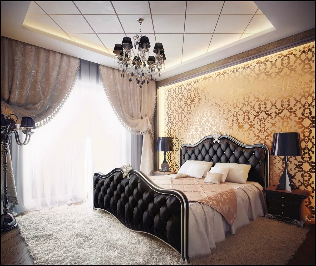 Best Glamorous Bedroom Furniture Ideas (View 8 of 9)