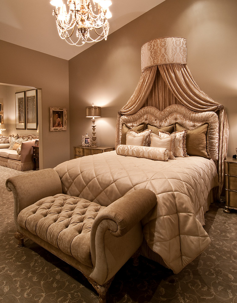 Featured Image of Glamour Bedroom Design Ideas
