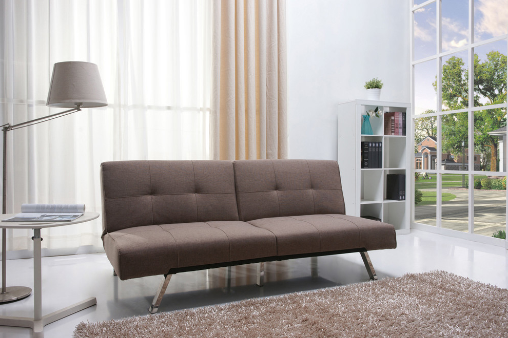 Minimalist Sofa Bed For Living Room (Image 6 of 11)