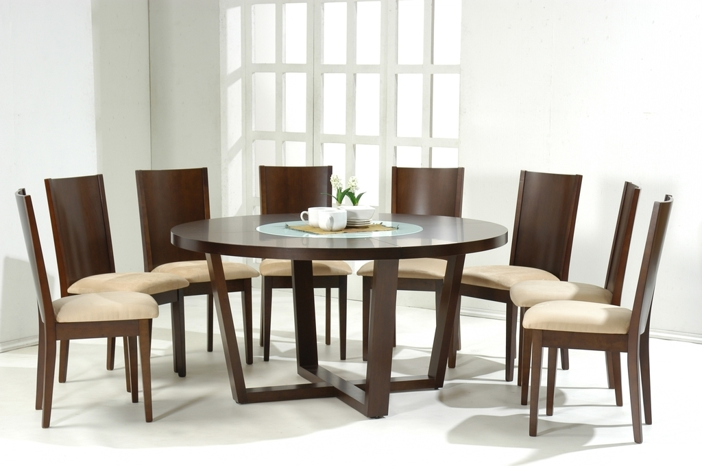 36×36 Round Kitchen Dining Table (Photo 11 of 13)