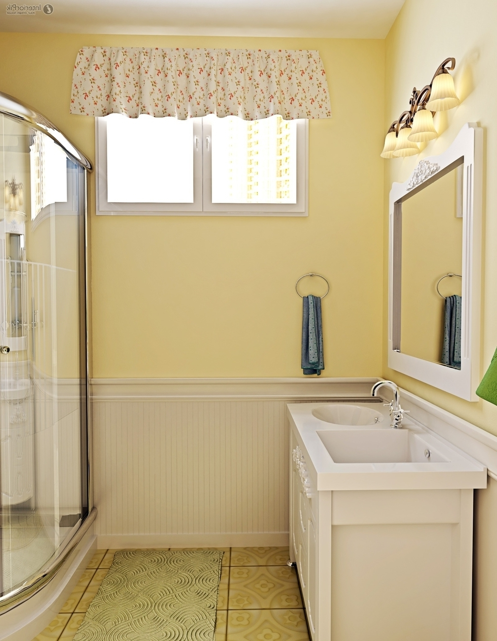 6×8 Bathroom Traditional Furniture And Color (View 3 of 12)