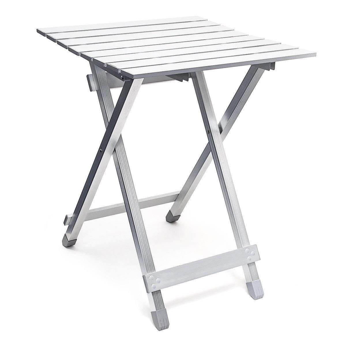 Aluminum Fold Up Table Modern Design (Image 1 of 20)