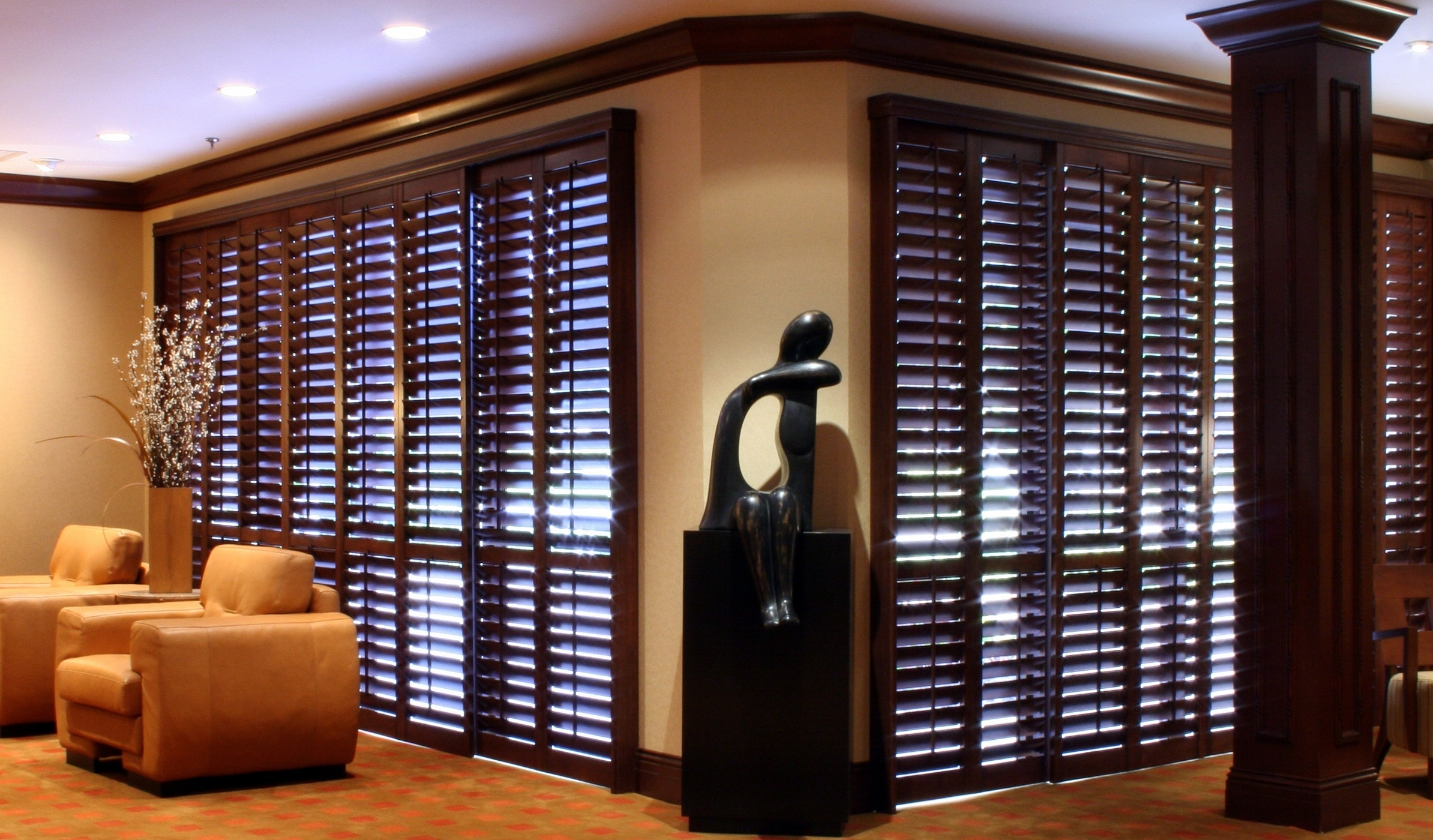 Amazing Wooden Window Shutters Design (Image 1 of 7)