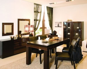 Asian Style Dining Room Furniture Set