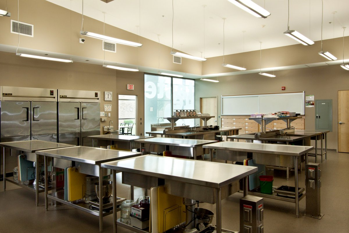 Classroom Design Ideas For College ~ Kitchen cooking table ideas for school