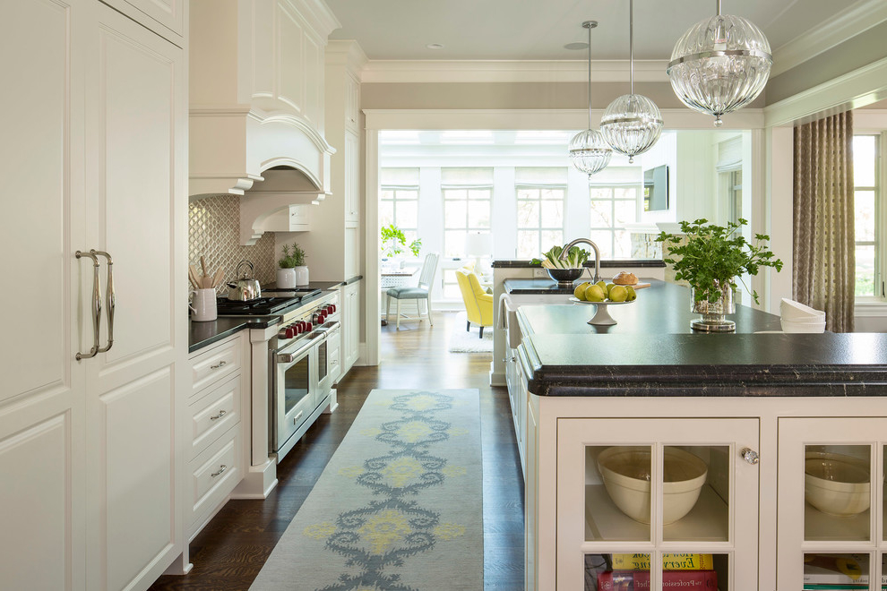 Ballard Contemporary Design Kitchen Rugs (Image 1 of 10)