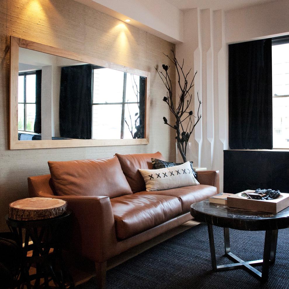 Best Brown Leather For Sofa Decoration (View 4 of 17)