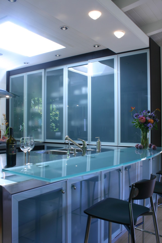 Best Contemporary Glass Top Kitchen Table Furniture (Image 1 of 6)