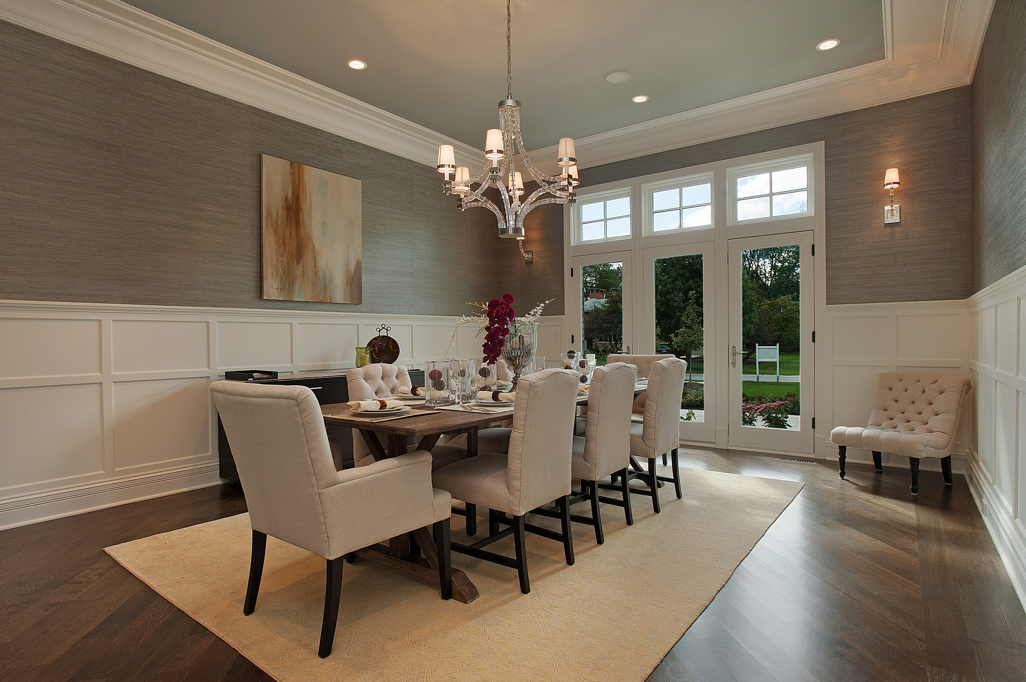 Best Decoration For American Formal Dining Room Furniture (Image 1 of 30)