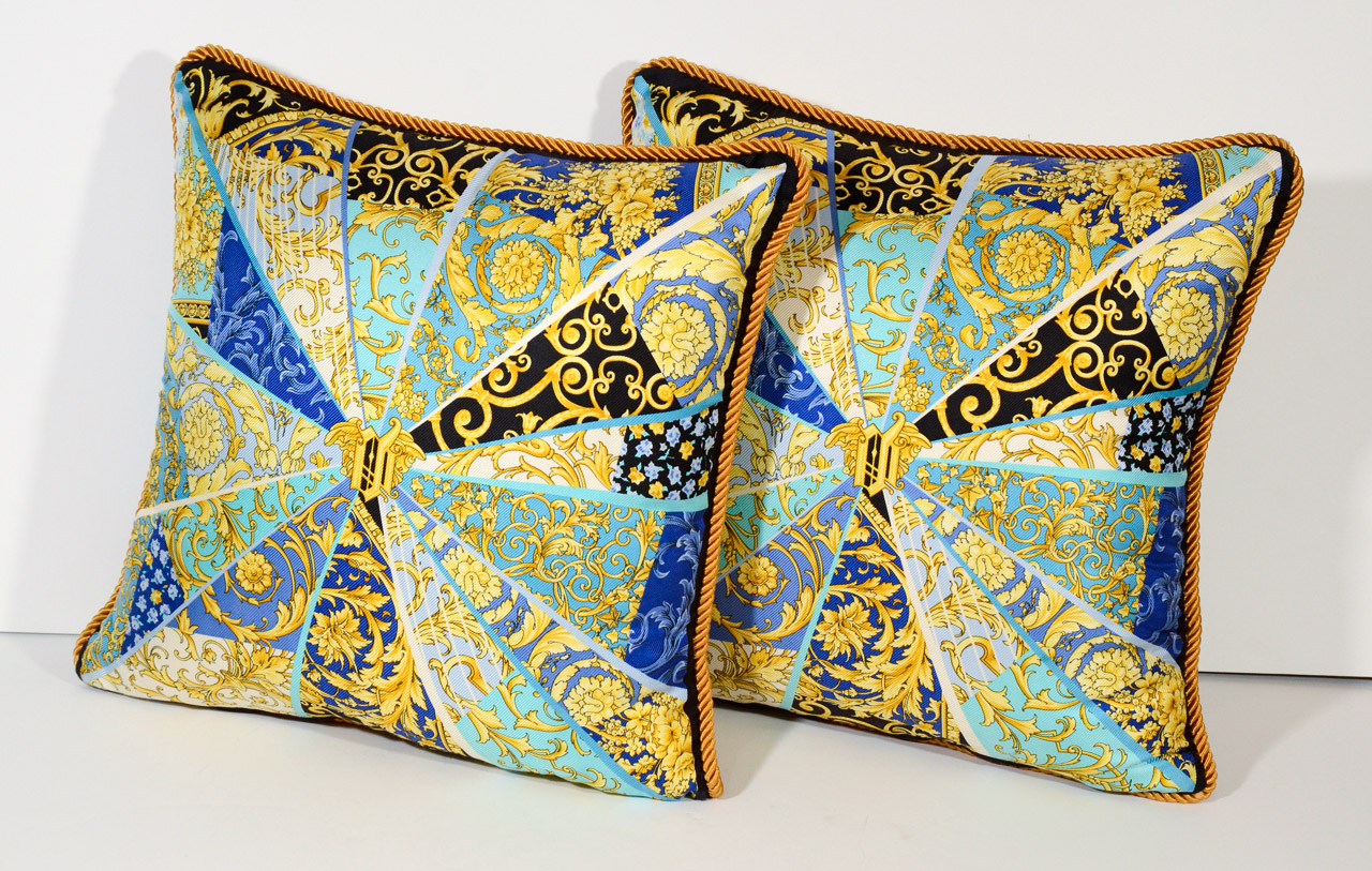 Best Decorative Silk Sofa Pillows (Image 2 of 20)