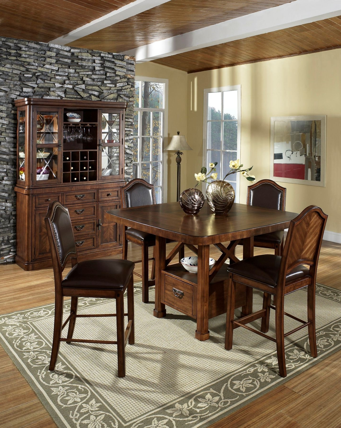 China Wooden Dining Room Furniture And Buffet Image 4 Of 10