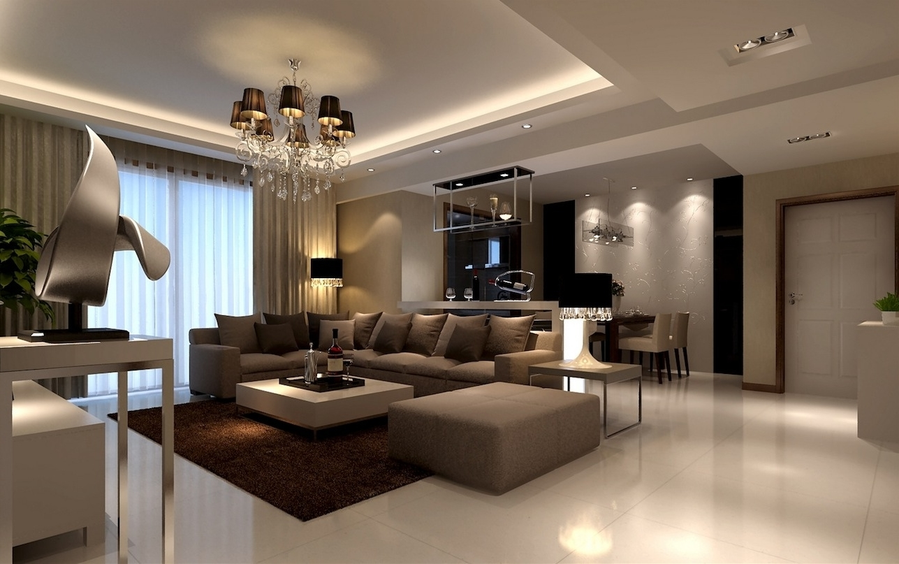 Classic Contemporary Living Room contemporary living room lamps for perfect lighting #766 | living
