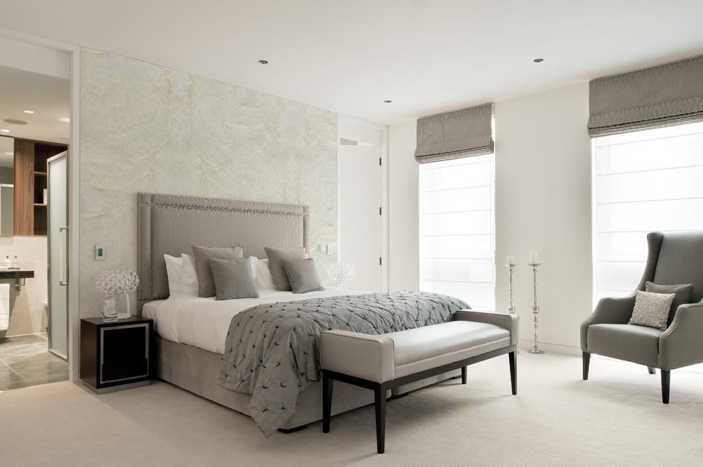 Classy Gray Bedroom Decor Theme