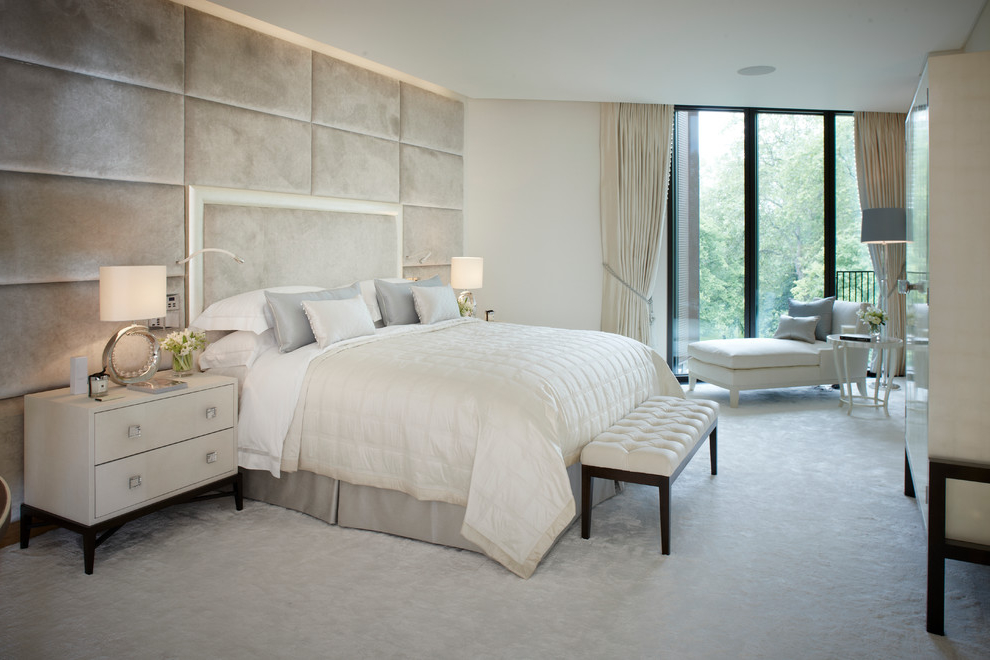 Classy White Bedroom Elegant And Luxury Nuance (Image 5 of 8)