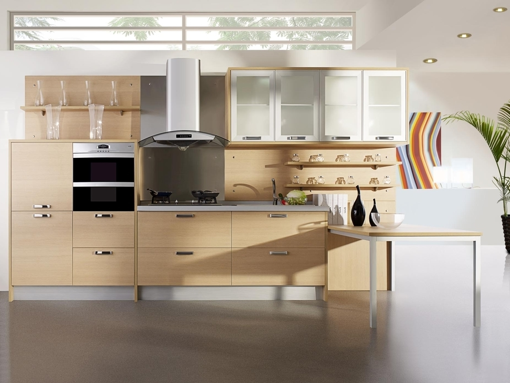 Contemporary Kitchen Cupboard Design (Image 2 of 20)