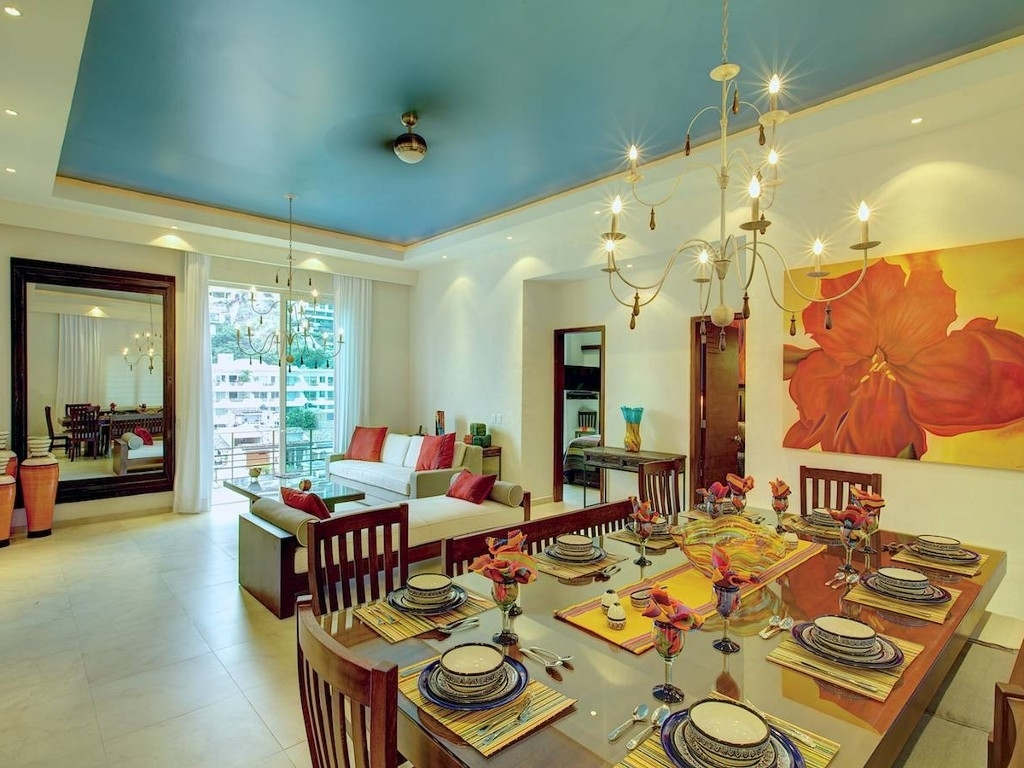 Contemporary Modern Mexican Dining Room (Image 1 of 7)