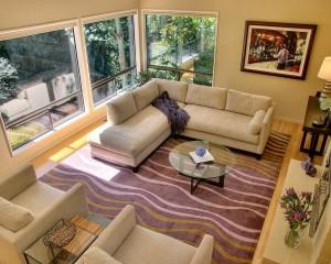 Cozy Clean Living Room Carpet