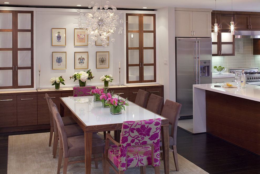 Cozy Dining Room Buffet Table In Minimalist Design (Image 3 of 8)