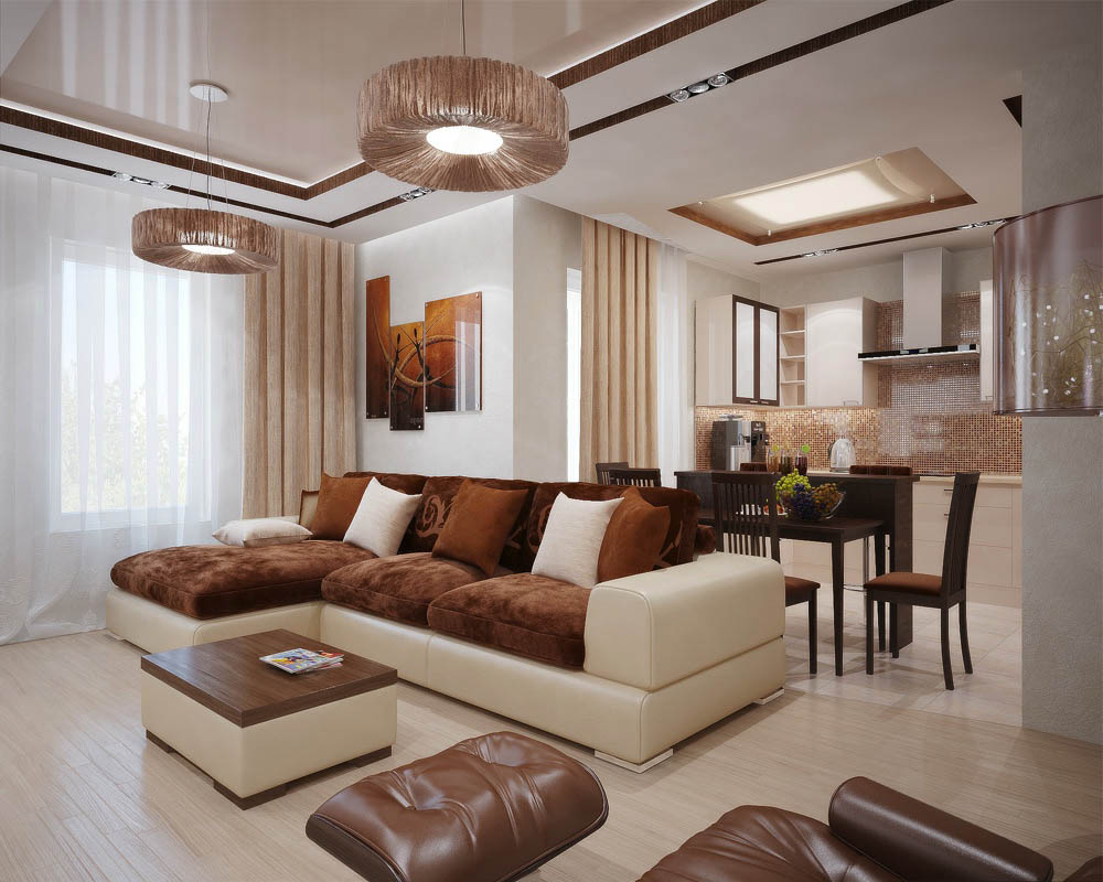 Creative Design For Contemporary Living Room Chandelier (Image 6 of 13)