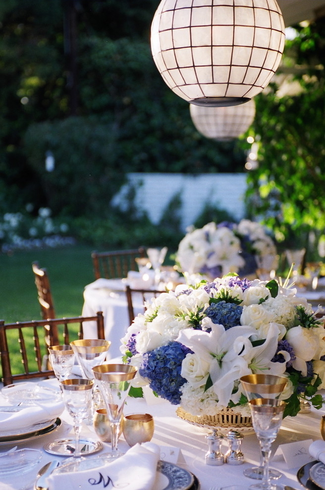Creative Garden Wedding Centerpieces Ideas (Image 2 of 13)