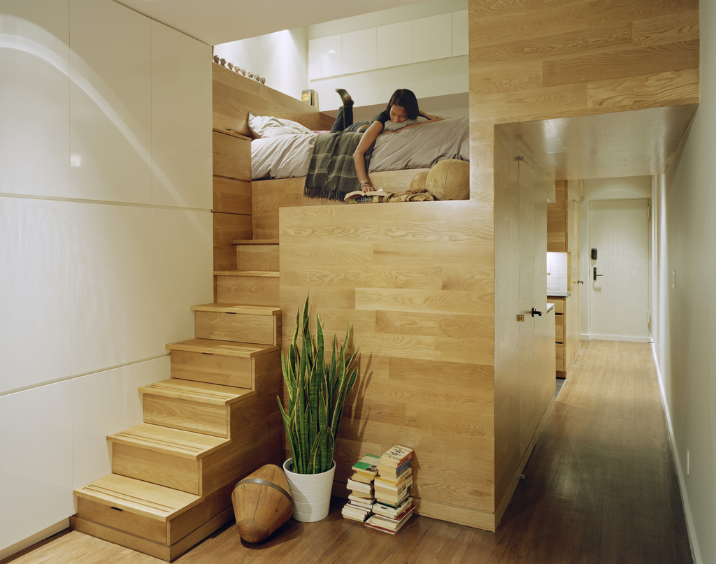 Creative Wooden Apartment Interior Design (Image 8 of 21)