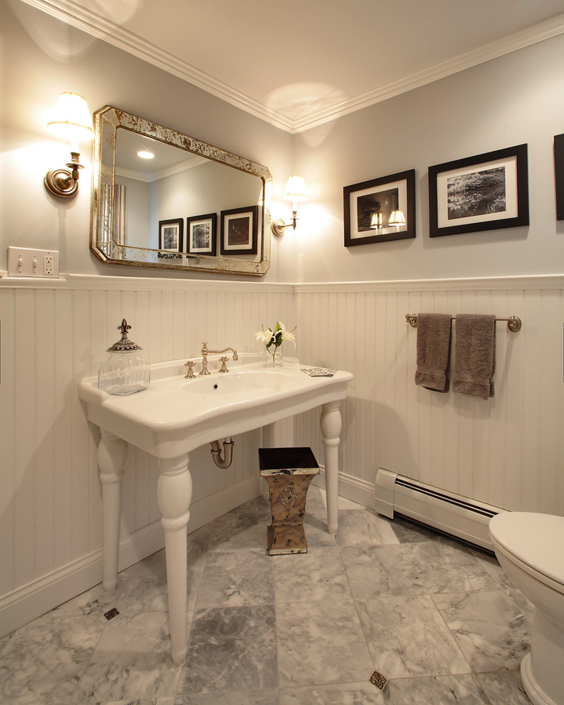 Custom Frame Bathroom Mirrors Makeover (Image 5 of 16)