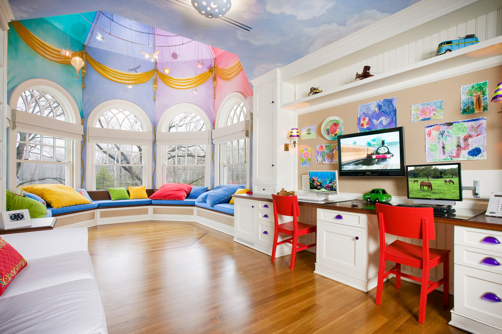 2014 Kids Playrooms Decorating Ideas 629 House