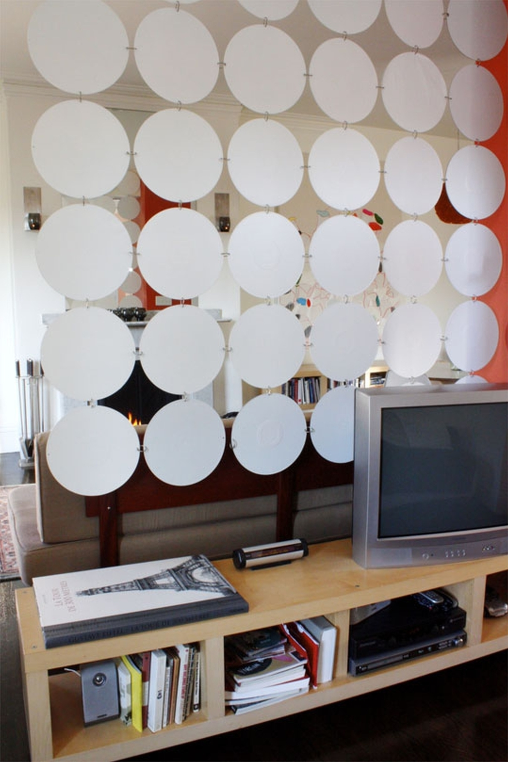 DIY Living Room And Dining Room Divider From Paper (Image 7 of 16)