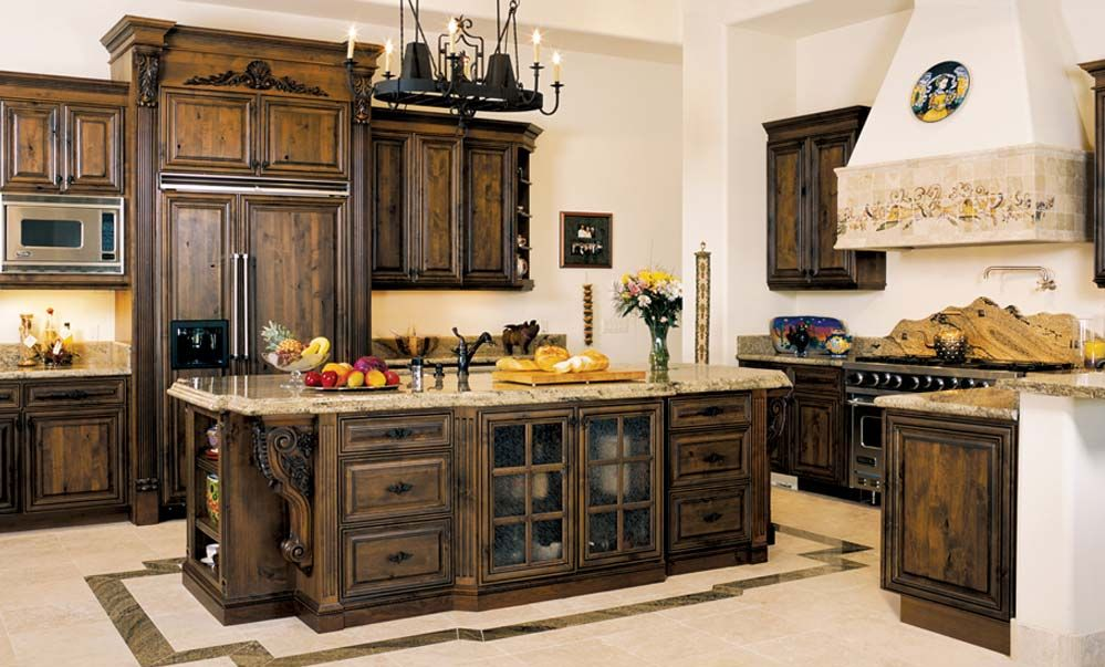 Daily Interior Design Tuscan Kitchen (Image 2 of 8)