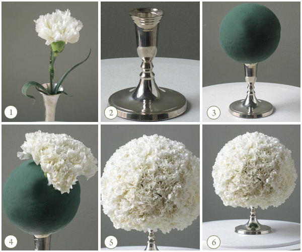 Diy Carnation Centerpieces (Image 1 of 15)