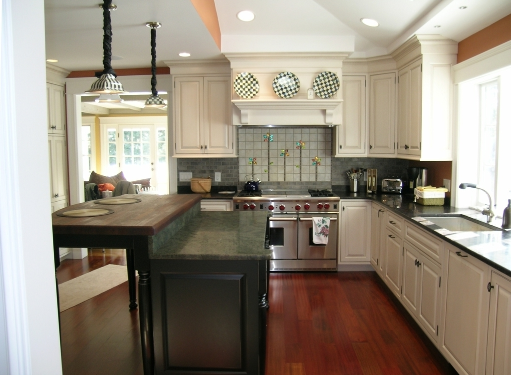 Easy Renovation Kitchen Countertops With White Cabinets (Image 3 of 12)