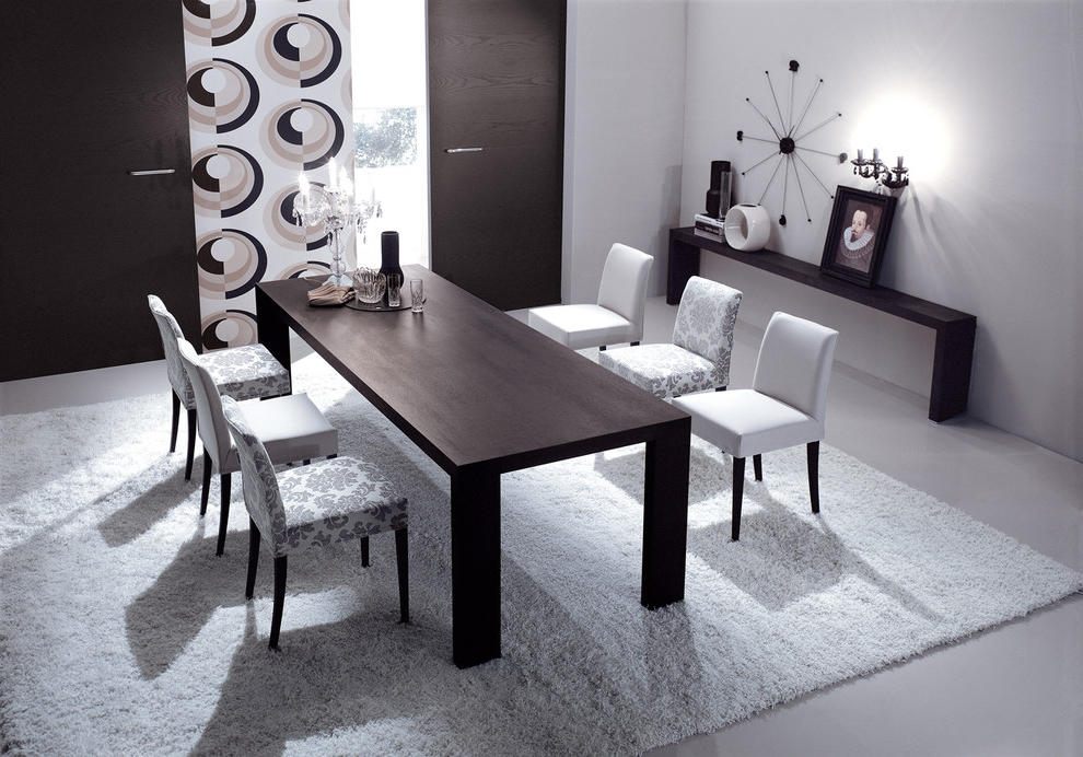 Elegance Dining Room In Contemporary Design (Image 6 of 7)