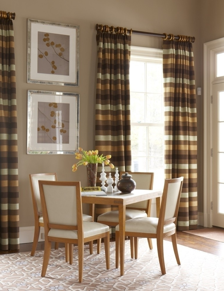 Featured Image of Simple Dining Room Curtain Ideas For Family Event