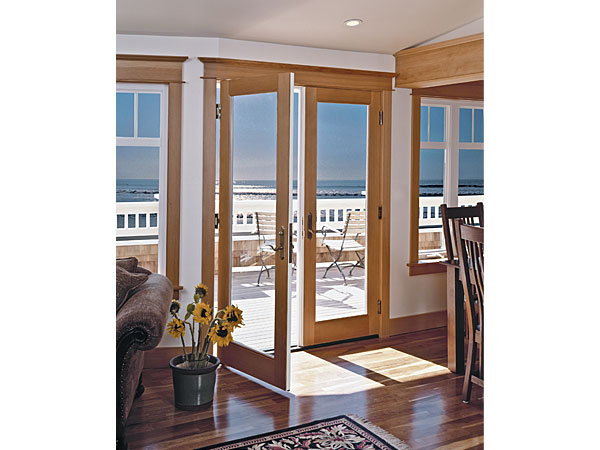 Essence Wood French Doors (Image 2 of 8)