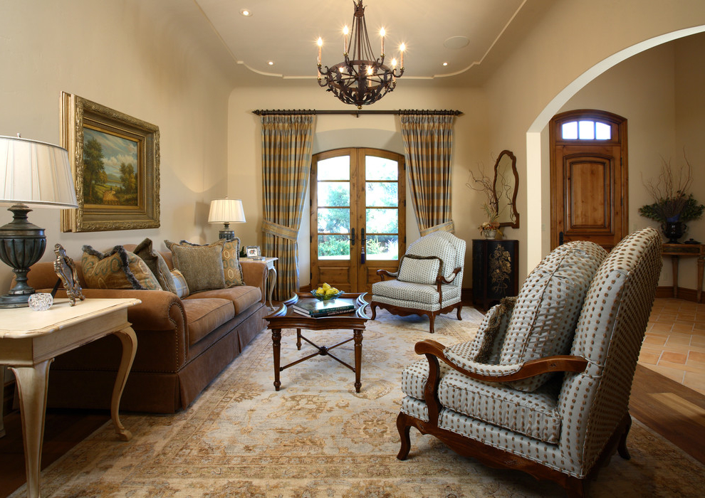 European Living Room In Classic Style (View 6 of 6)