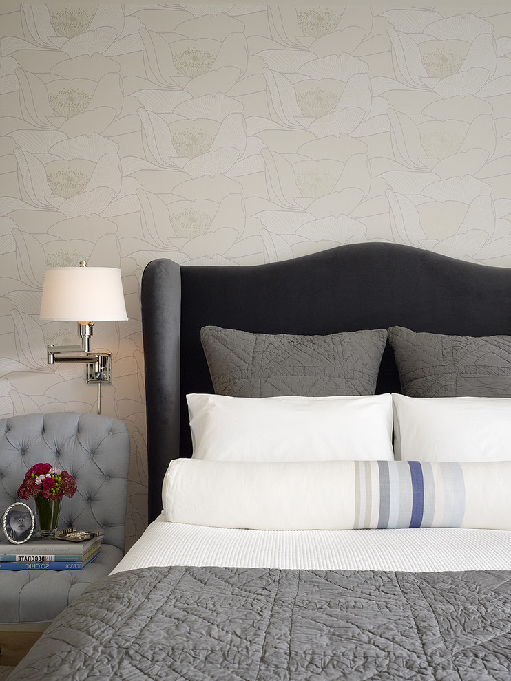 Gary And White Decorative Cushions For Bedroom (Image 9 of 12)