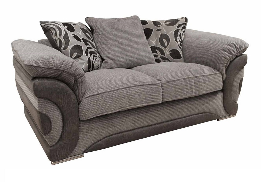 Gray Sofa Pillows For Minimalist Look (Image 11 of 20)