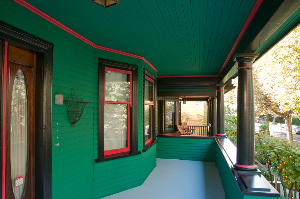 Green Paint Schemes For Houses Exterior (Image 5 of 8)