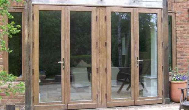 Hardwood French Door (Image 4 of 8)
