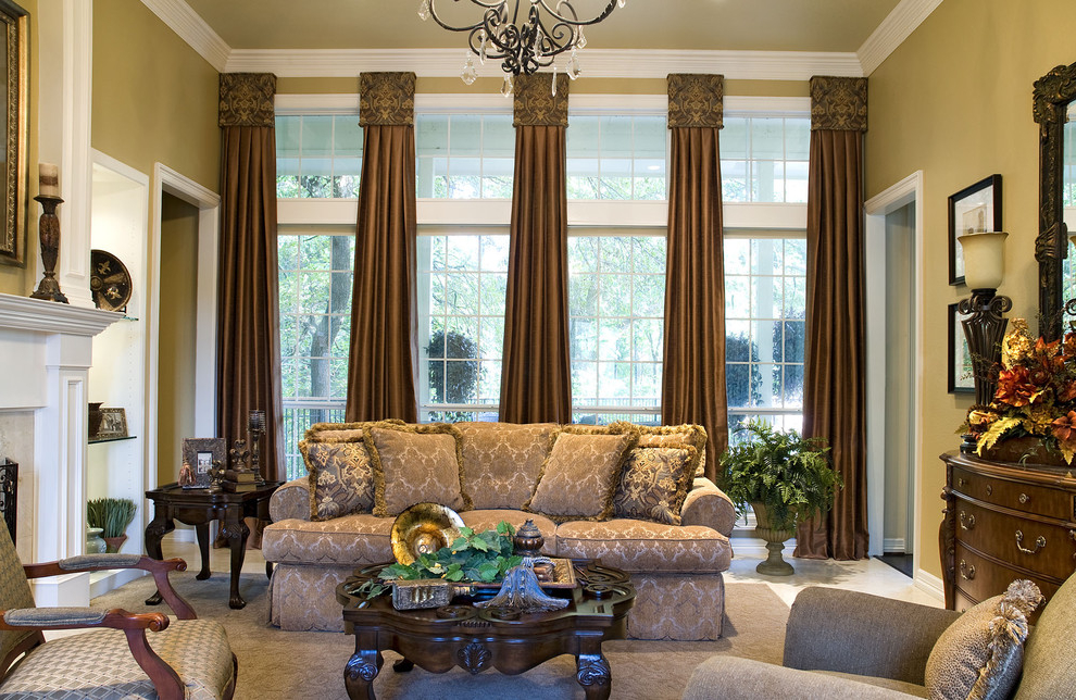 Italian Living Room Architecture Curtain And Sofa Ideas (Image 5 of 8)