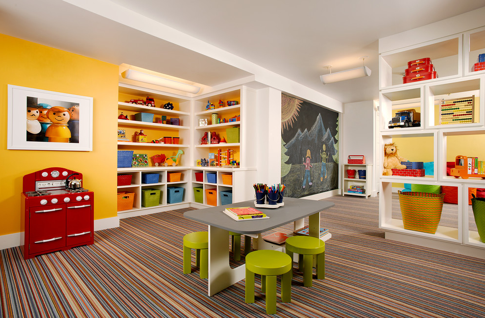 Colorful Kids Playroom Design Ideas - aralsa.com