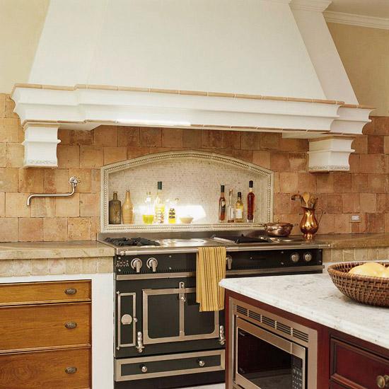 limestone in kitchen backsplash image 10 of 12