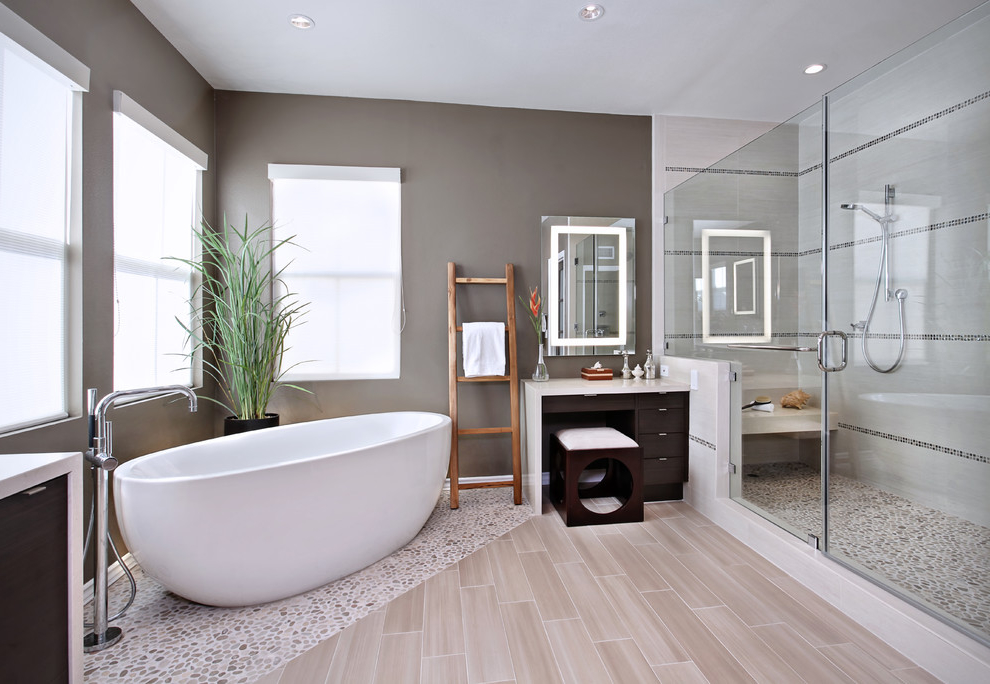 Los Angeles Master Bathroom Remodeling (Image 3 of 4)