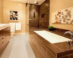 Los Angeles Modern Bathroom Interior Remodeling