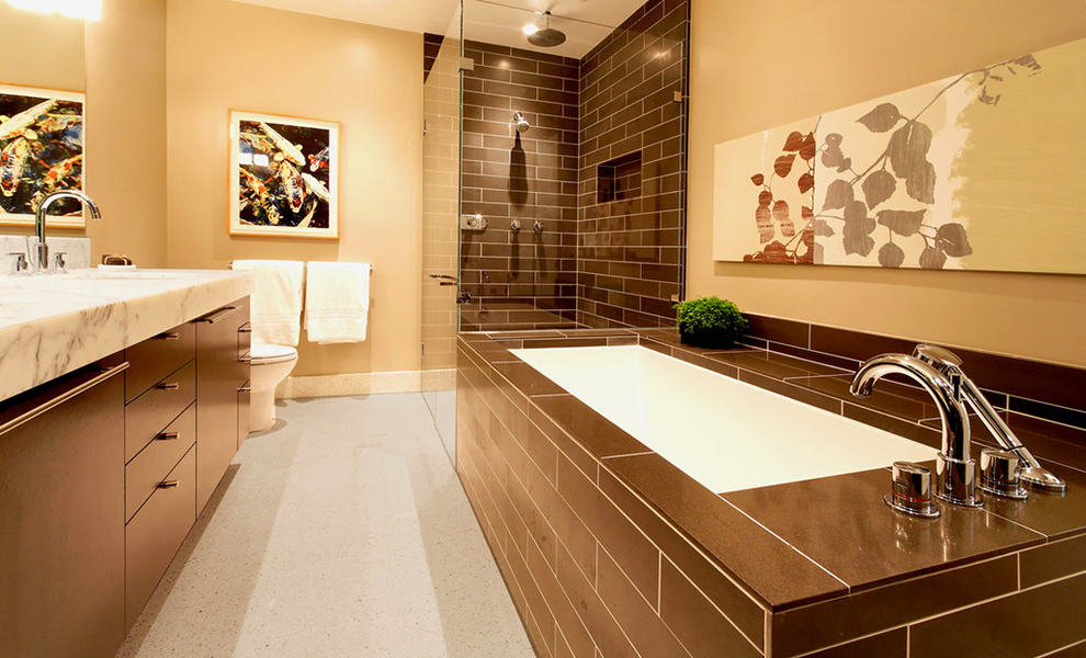 los angeles modern bathroom interior remodeling image 4 of 4 - Bathroom Remodel Los Angeles