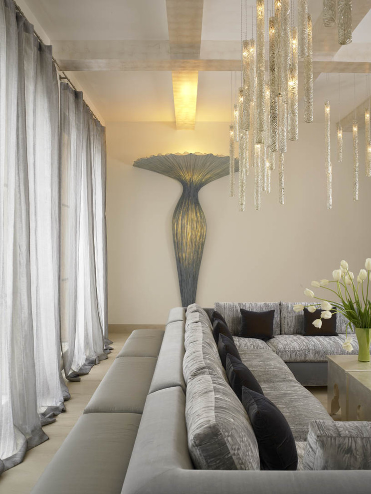 Luxurious Living Room Curtain (Image 4 of 6)